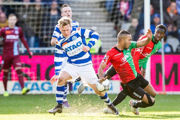 In 2016 werd de kleine Gelderse derby in de eredivisie gespeeld.