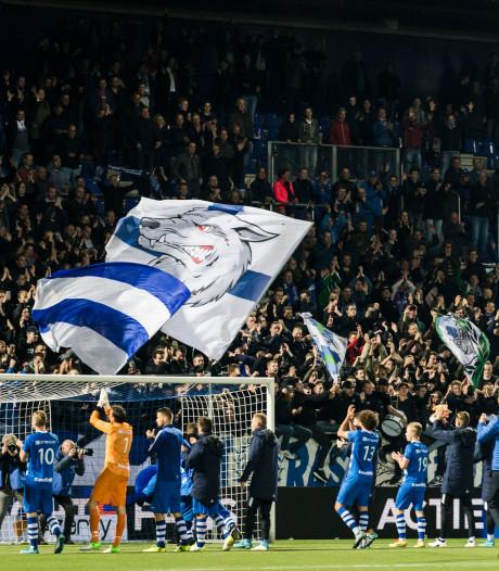 PEC Zwolle heeft helft van het stadion alweer bijna gevuld