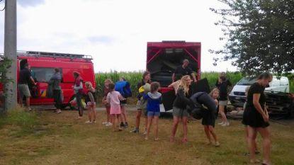 120 Chiromeisjes tijdelijk geëvacueerd op kamp na onweer