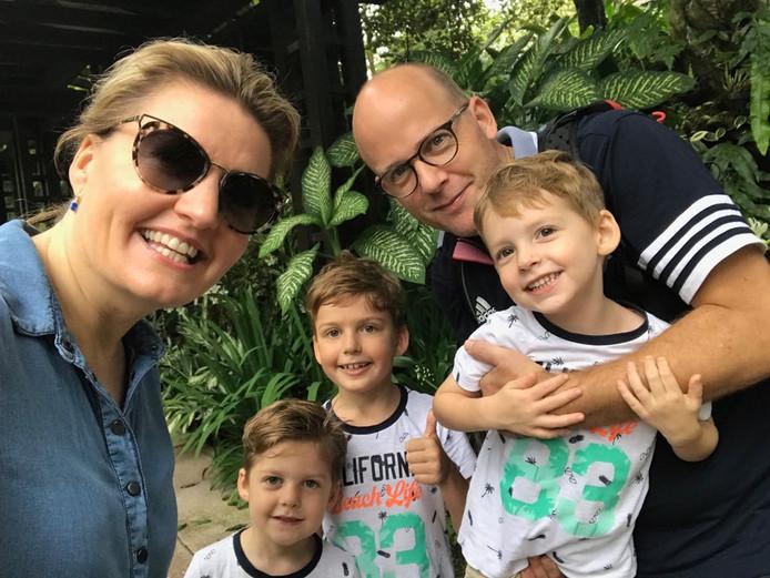 Het gezin van Niek Druijff
