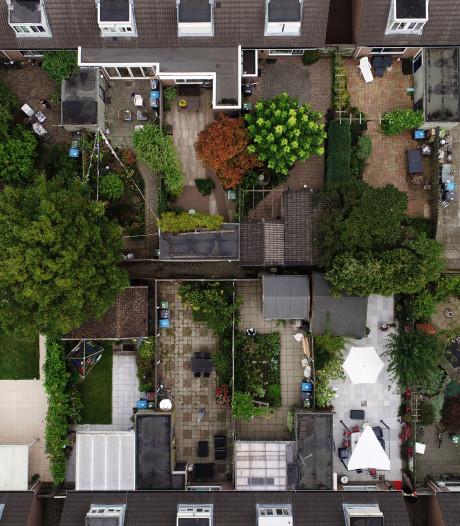 Nederlandse tuinen worden ieder decennium kleiner