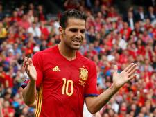 Fabregas en Morata grote afwezigen bij WK-selectie Spanje