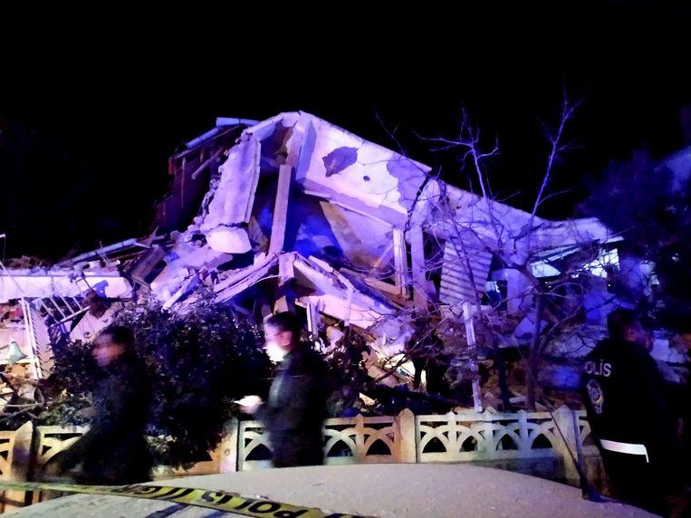 Krachtige aardbeving in het zuidoosten van Turkije