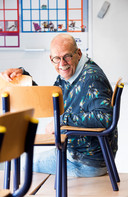 Meester Kees is leraar van groep 7/8 van De Wegwijzer