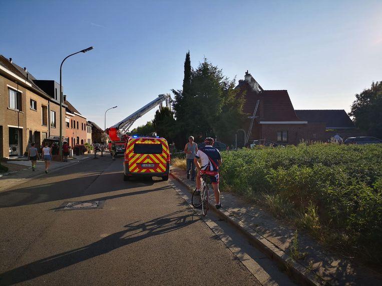 De brandweer wist het vuur snel te blussen.