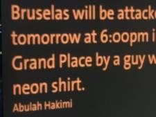 """""""Bruxelles sera attaquée demain"""": une enquête en cours après une menace d'attentat"""