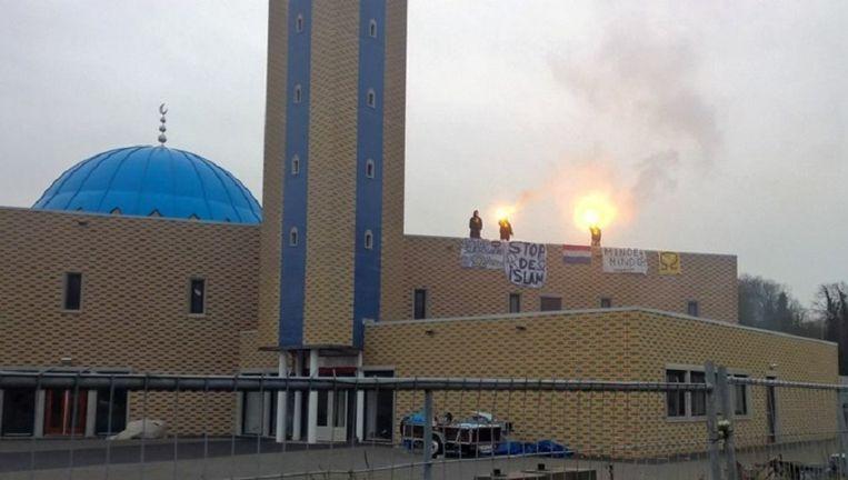 De Al-Fath-moskee in Dordrecht Beeld RTV Rijnmond