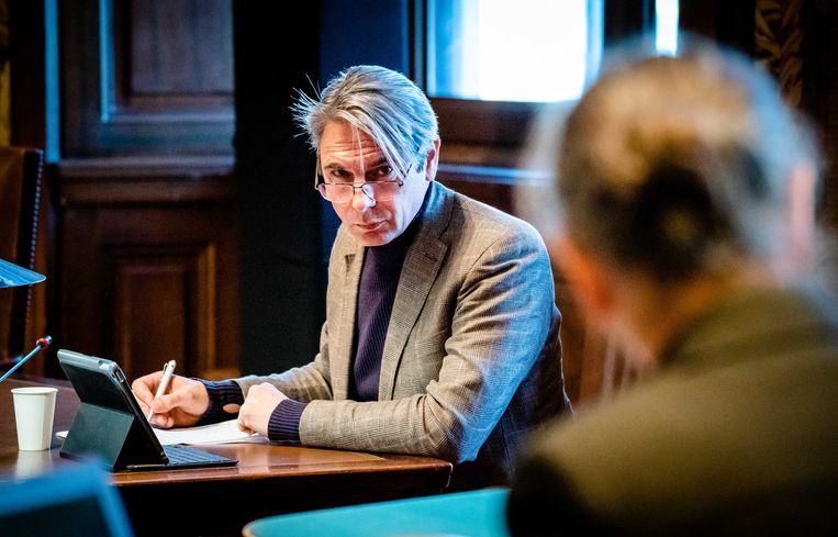 Tuur Elzinga, vicevoorzitter van de FNV.  Beeld Bart Maat / ANP