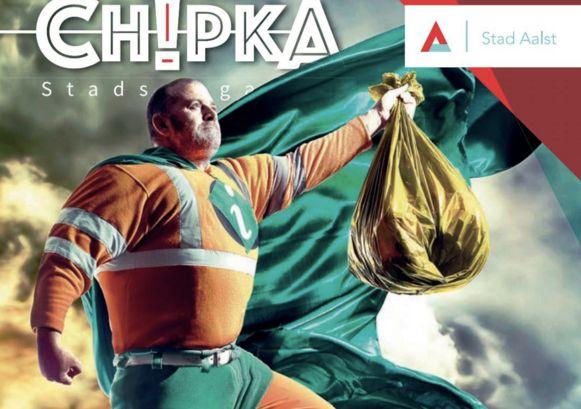 Den Board als Ilva-man op de cover van Chipka