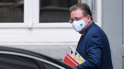 Brusselse crisiscel zit samen na overleg tussen premier Wilmès en minister-president Vervoort