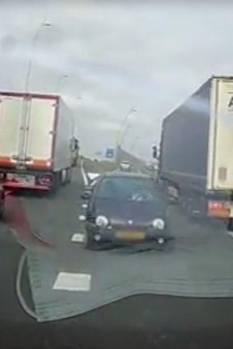 Spookrijder Eindhovense snelweg opgespoord, vrouw (69) uit Bergeijk is rijbewijs voorlopig kwijt