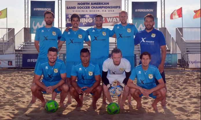 Beach Soccer Zeeland in Amerika