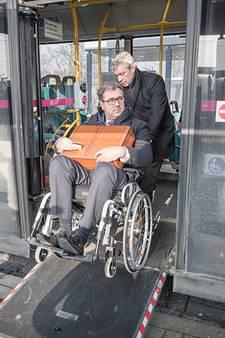 Bushalte vaak hindernis voor mensen met rolstoel