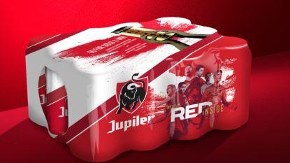 Geen EK 2020, maar toch speciale EK-blikjes met roodgekleurd bier in de supermarkt