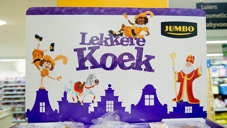 Sinterklaas en Zwarte Piet, Jumbo ontloopt ze niet. Beeld anp