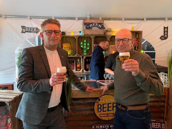 Frank Gies en Geert Stienissen (rechts).