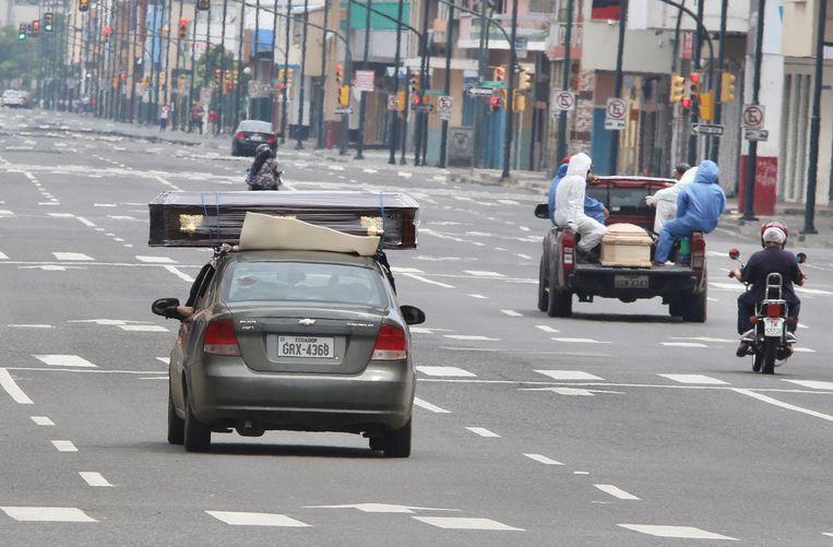 Overal doodskisten in Guayaquil