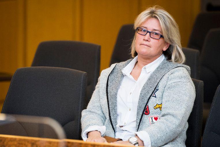 Antoinette G., de moeder van de vermoorde peuter Sandra G.