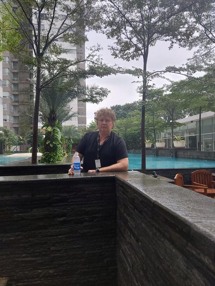 Schiedammer Edwin van der Hoeven in Jakarta, waar hij bijna vier jaar woont en werkt.