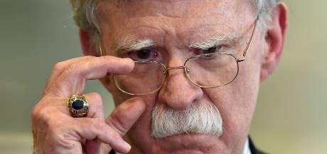 Voormalig veiligheidsadviseur Bolton getuigt vooralsnog niet tegen Trump