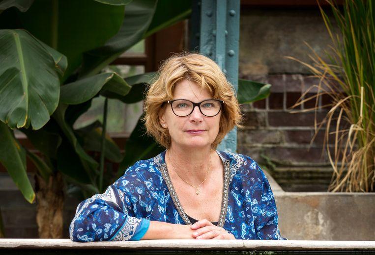 Christa Anbeek, winnaar van de publieksprijs voor het beste spirituele boek. Beeld Jörgen Caris