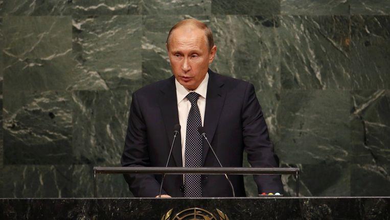 Vladimir Poetin Beeld reuters