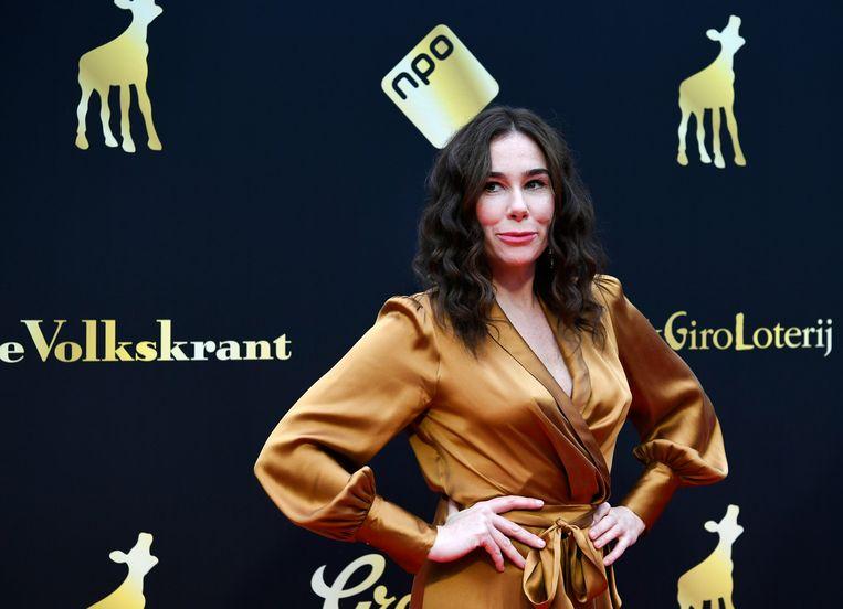Halina Reijn won met de televisieserie Red Light twee Kalveren. Beeld ANP
