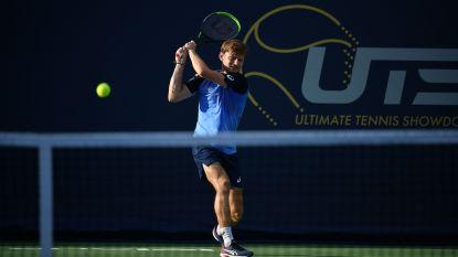 Goffin in Ultimate Tennis Showdown niet opgewassen tegen Thiem