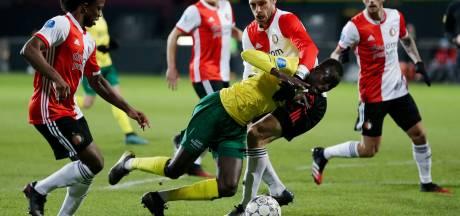 Narsingh schiet Feyenoord in slotminuut verlenging langs Fortuna