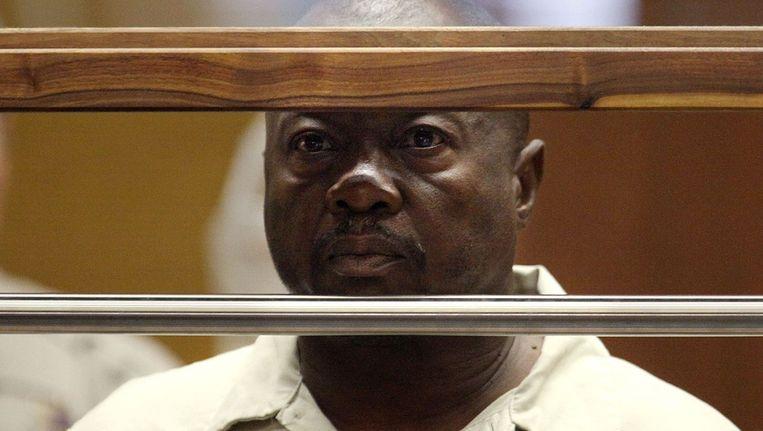 Lonnie Franklin jr. in de rechtbank.