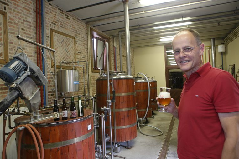 Marc Beirens van brouwerij de Loterbol, een vaste waarde in het brouwerijlandschap.