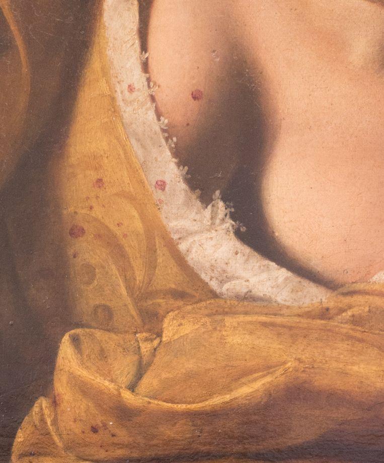 Detail uit Judith onthoofdt Holofernes Beeld AKG