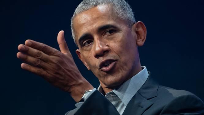 """Barack Obama ziet het groots: """"Drake mag mij spelen in een film"""""""