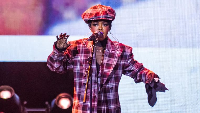 In Londen maakte Lauryn Hill indruk. Beeld Joseph Okpako/ WireImage