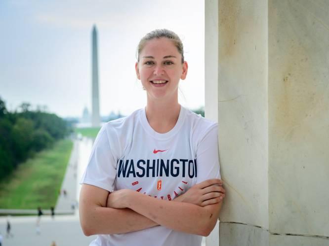 """""""Hoe kan je president, die aanzet tot geweld, nog goedpraten?"""": Sportvrouw van het Jaar Emma Meesseman ontzet over toestanden in 'haar' Washington"""