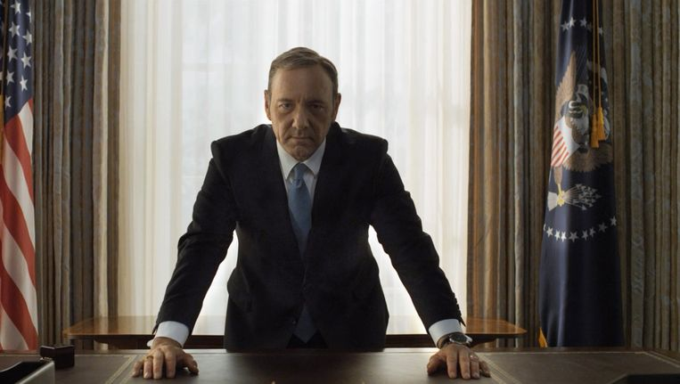 Kevin Spacey als Francis 'Frank' Underwood. Beeld Nathaniel Bell