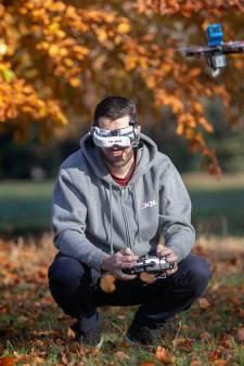 René Sebastian uit Best in race voor beste drone-filmer van Nederland