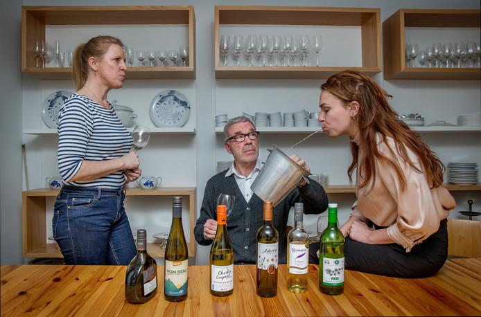 Er valt genoeg te genieten onder de wijnen met laag alcoholpercentage. ,,Je bent eerder geneigd nog glas in te schenken.''