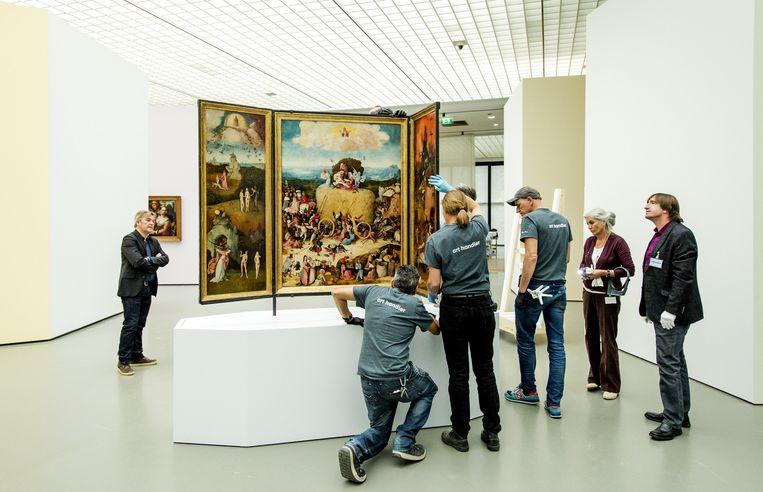 De Hooiwagen, in het Museum Boijmans van Beuningen Beeld anp