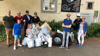 Rotary club Geraardsbergen ruimt zwerfvuil op