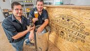 De Hoppertjes leren Sint-Eloois-Winkel bier drinken met eigen brouwsel en biercave