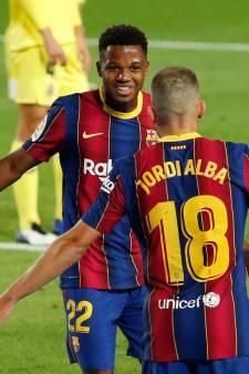 Fati en Messi bezorgen Koeman droomdebuut bij Barcelona met ruime zege op Villarreal