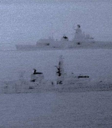 Brits en Russisch fregat zij aan zij in Noordzee