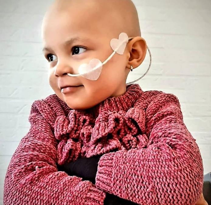 Eva (3) ondergaat binnenkort haar elfde chemokuur.
