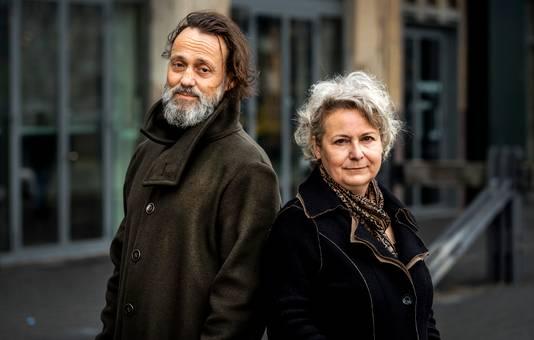 Hugo Borst en Carin Gaemers, de initiatiefnemers van het manifest.