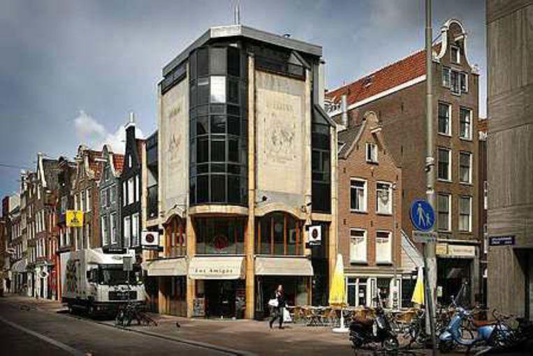 Hoek Reguliersdwarsstraat. Foto Floris Lok Beeld