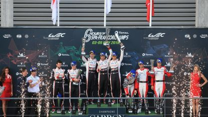Alonso wint meteen in Spa
