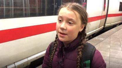 """Klimaatactiviste Greta Thunberg (16) in Brussel: """"Ik ben hier om de EU te vertellen dat ze haar verantwoordelijkheid moet opnemen"""""""