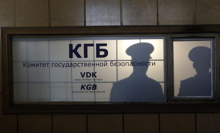 Het voormalig hoofdkantoor van de KGB Beeld reuters