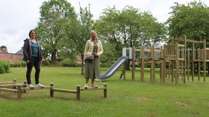 Baljuwtuin heeft nieuwe speeltoestellen dankzij de input van de kinderen